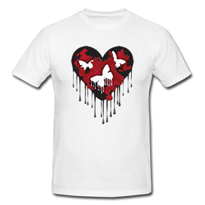 Blooderfly Heart Shirt